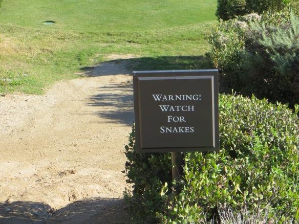 Snake Warning