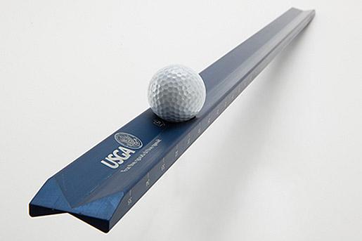The latest cutting edge version with the USGA logo (USGA/Jonathan Kolbe)