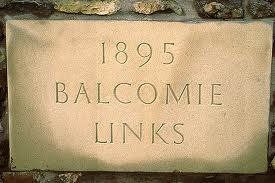 Balcomie Links Stone Marker