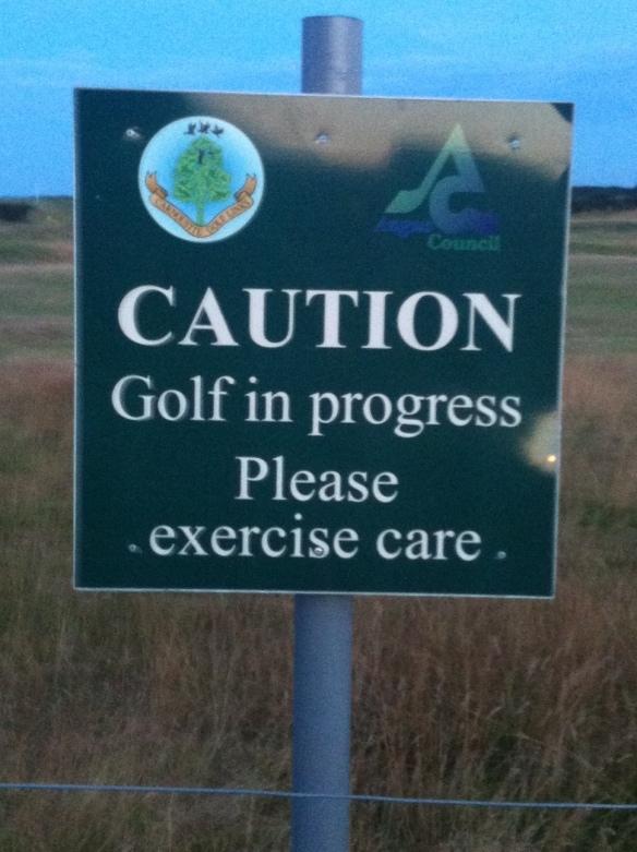 Carn Warning Sign