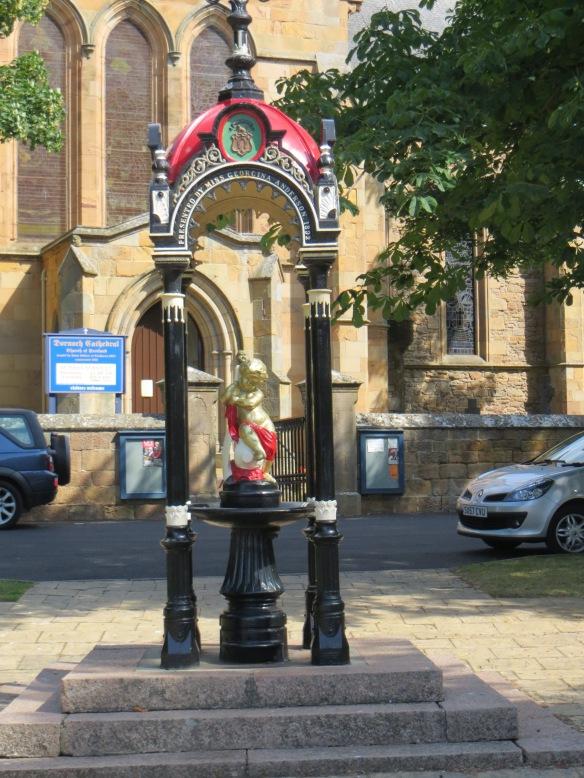 Dornoch Cathedral Statue