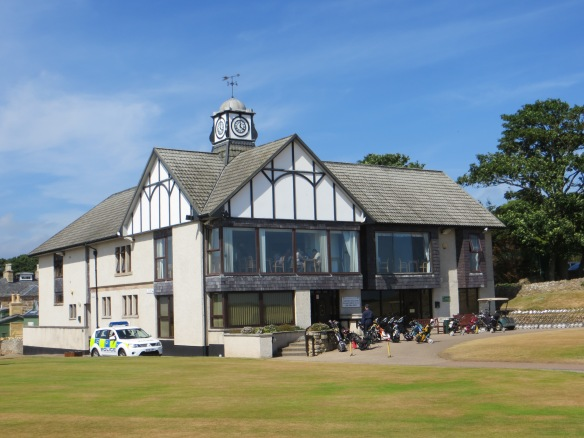 The clubhouse is a museum of Dornoch lore.