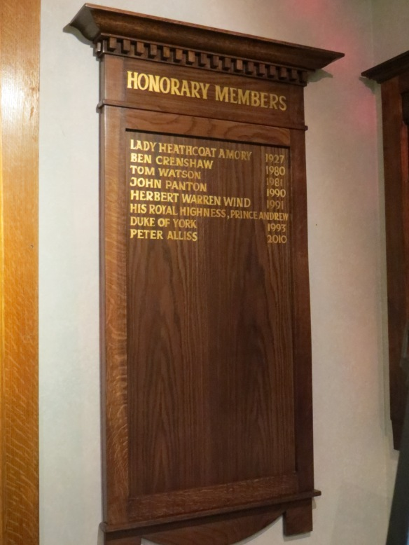 Dornoch Honorary Members