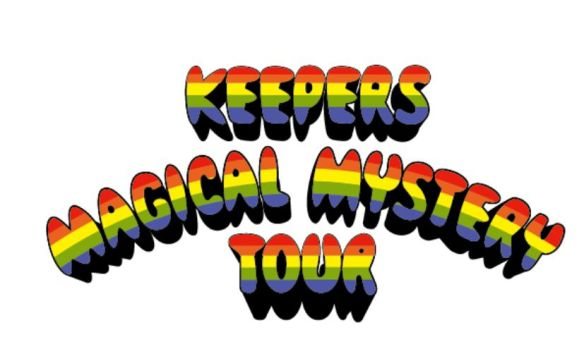 Keepers Mag Mystery Tour Logo