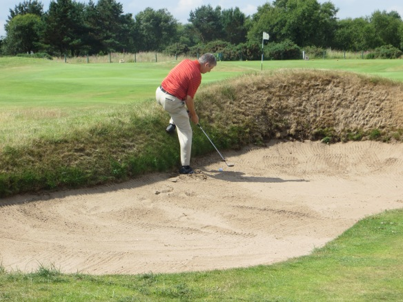 Rusty Bunkered #6