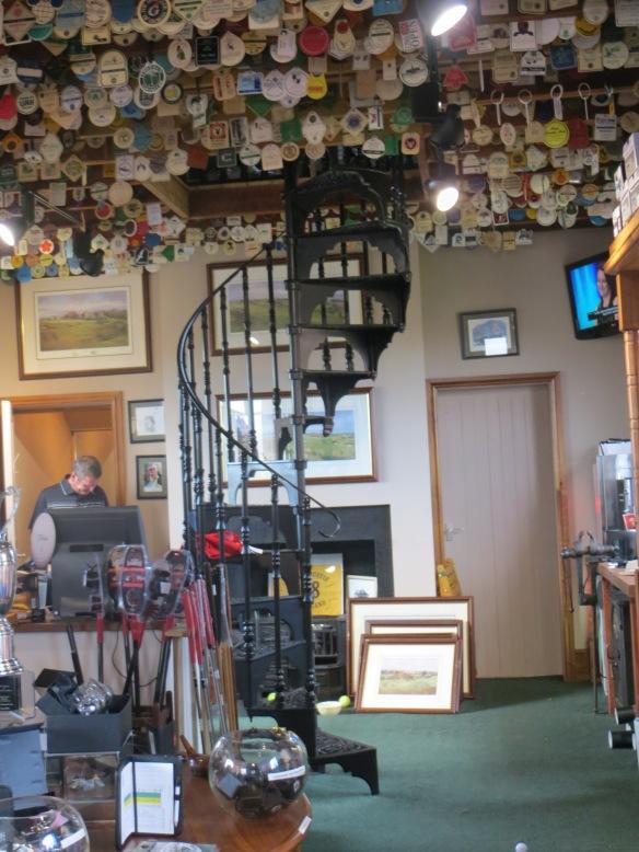 Simpsons Golf Shop Inside