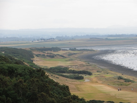 The beauty stretches out in front of you in the first three seaside holes.