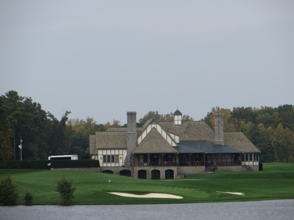 The 19th hole set at the foot of the clubhouse is an added bonus.