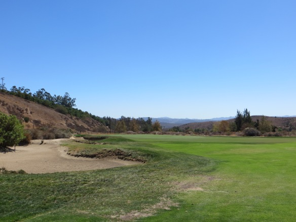 The wrap-a-round of the Par 4 12th is one of distinctive features of the three short par fours
