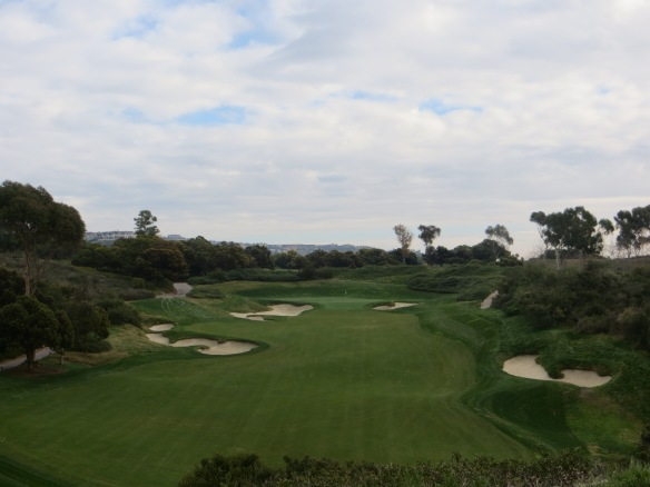 The view on the short Par 4 13th is very tantlizing