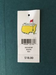 Masters Price Tag 2