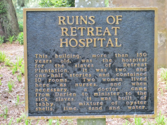 Retreat Hospital Sign