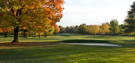 Seth Raynor used the land at hand to route a delightful old style golf course