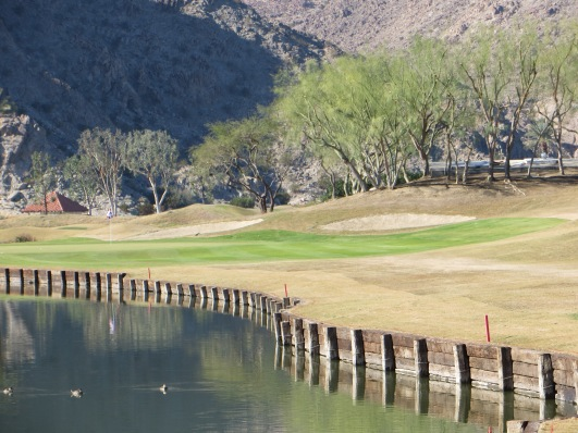 Do you have the nerve to take on a left flag on the Par 3 2nd?