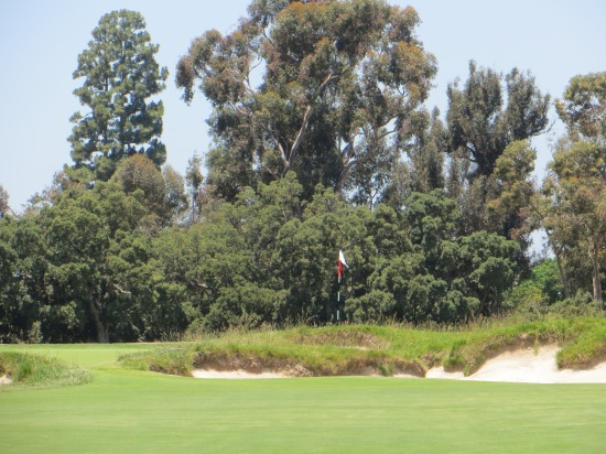 LA #12 Par 4 Green