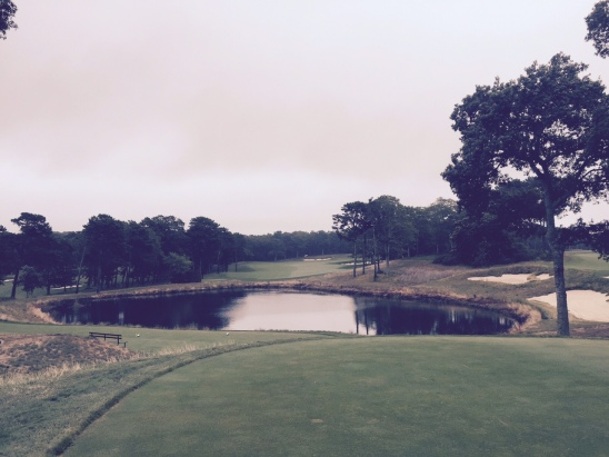 The look off the 10th tee is truly breathtaking