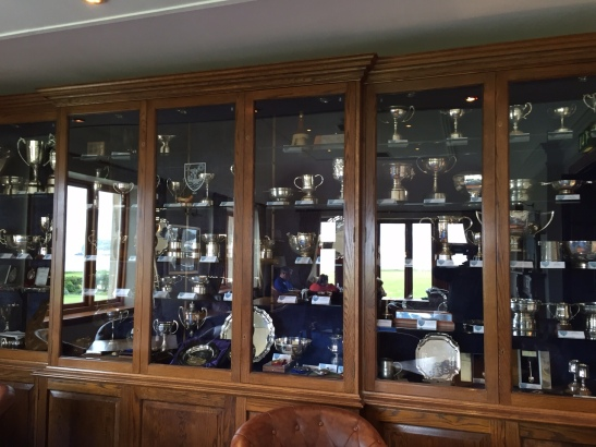 Bar Trophy Case