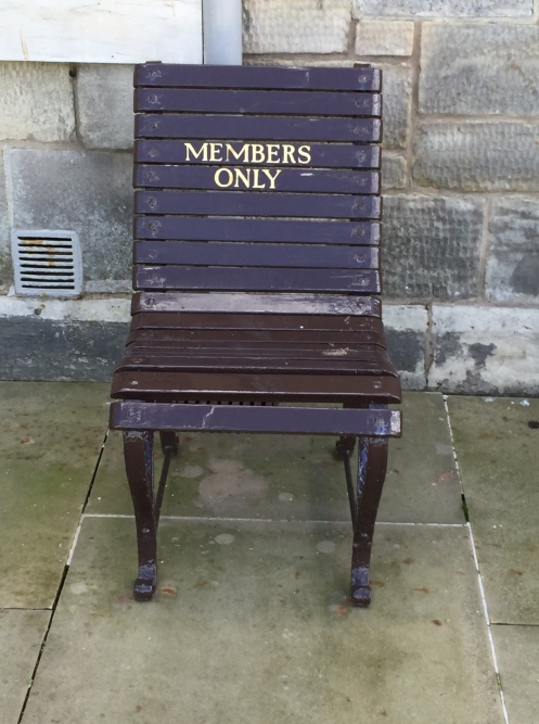Members Only Chair