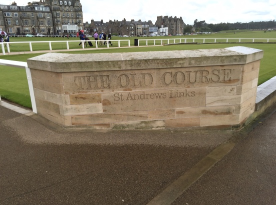 Old Course Sign