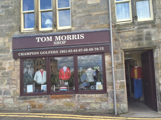 Old Tom Golf Shop