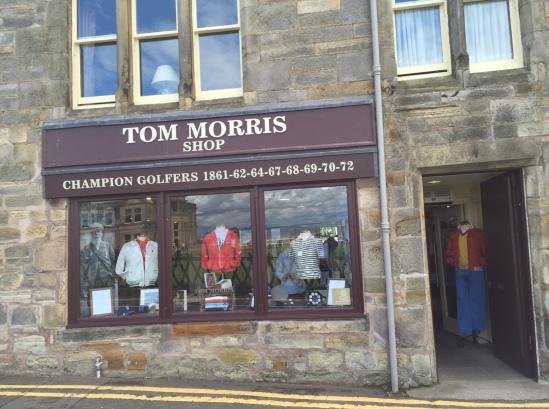 Old Tom Golf Shop
